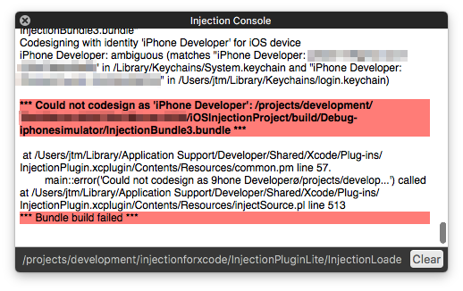 Getting Started with Injection for Xcode